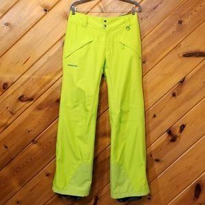 Patagonia Men's Snowshot Pants Peppergrass Green S